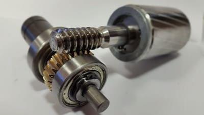 رتور و چرخ دنده جک الکترومکانیک